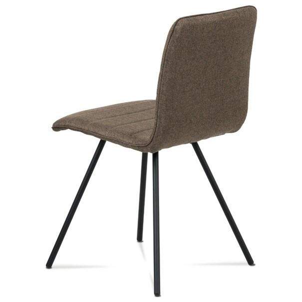 Jídelní židle ABIGALE hnědá 4