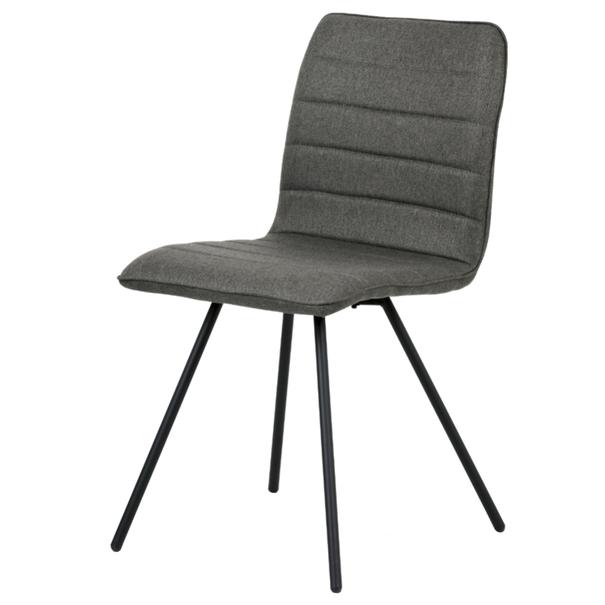 Jedálenská stolička ABIGALE sivá 1