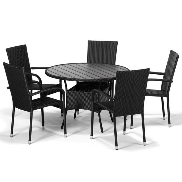 Zahradní židle ACAPULCO černá 4