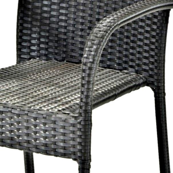 Zahradní židle ACAPULCO černá 8