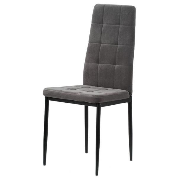 Jídelní židle ADELE I černá/šedá 1