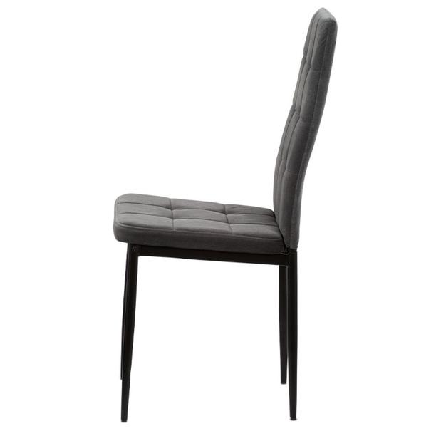 Jídelní židle ADELE I černá/šedá 2