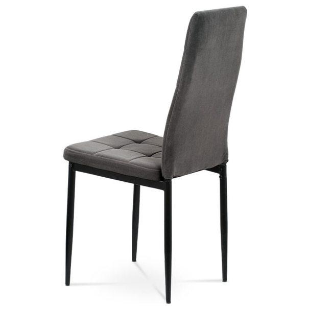 Jídelní židle ADELE I černá/šedá 3