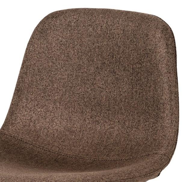 Barová stolička ADRIANNE hnedá/dub 7