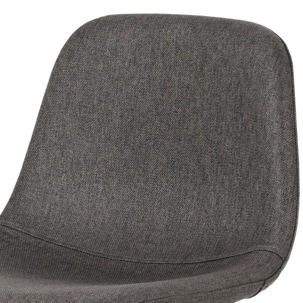 Barová židle ADRIANNE šedá/dub 6