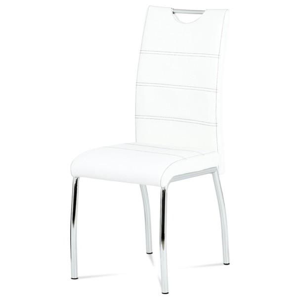 Jídelní židle AGATA bílá 1