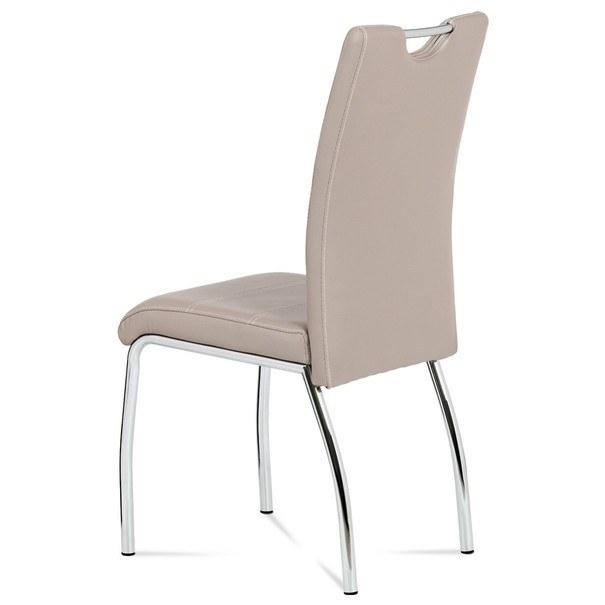 Jedálenská stolička AGATA cappuccino 2