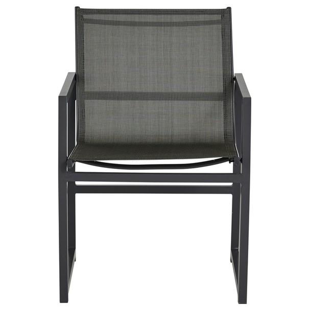 Balkónový set  AGULO šedá/černá 8