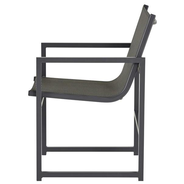 Balkónový set  AGULO šedá/černá 10