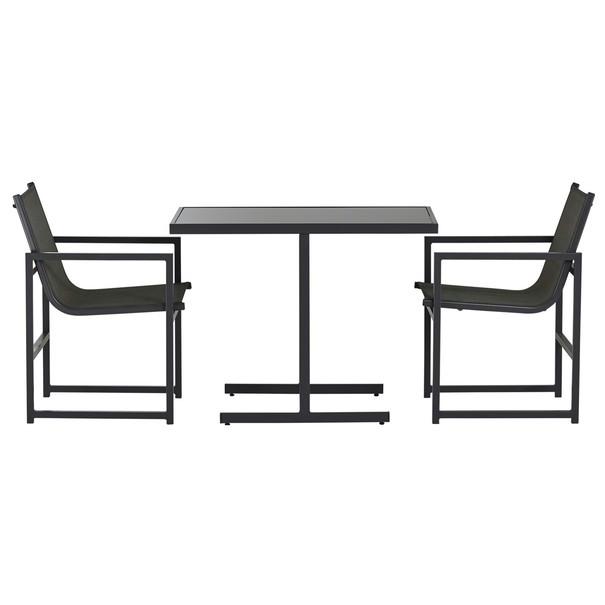 Balkónový set  AGULO šedá/černá 13