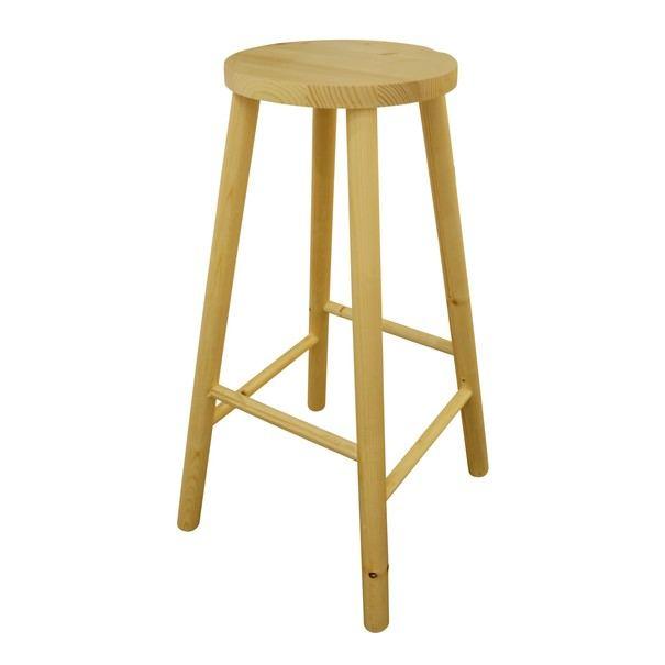Barová židle AKI 1 smrk 1