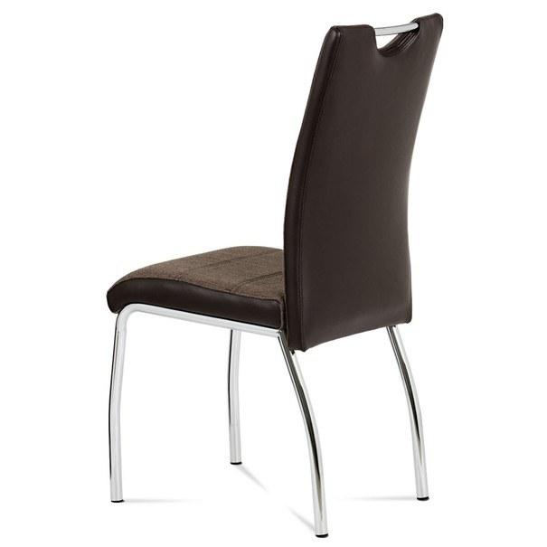 Jedálenská stolička ALENA  coffee/hnedá 2