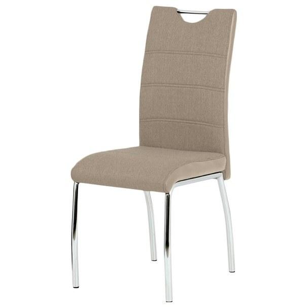 Jedálenská stolička ALENA  hnedá 1
