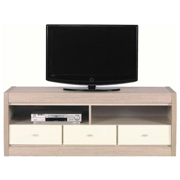 Sconto TV stolík ALEX AX2 tuja/jazmín vysoký lesk