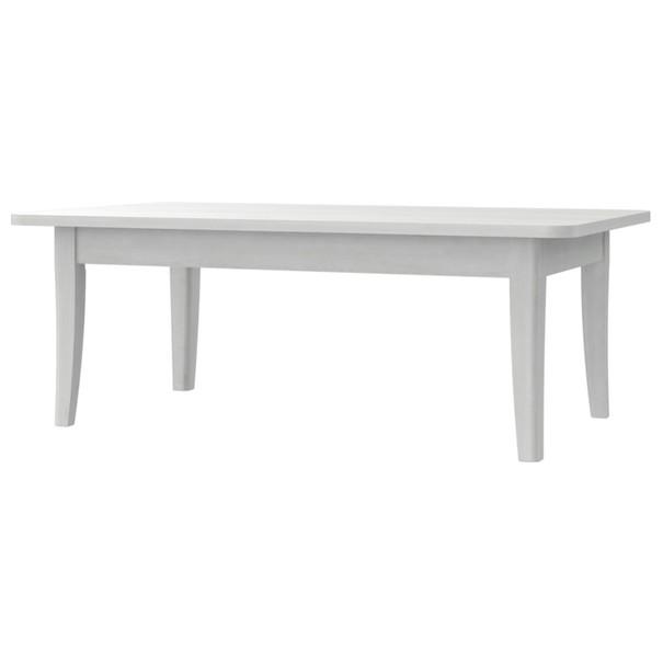 Konferenční stolek ALEXANDRIA 51 dub sněhobílý 1