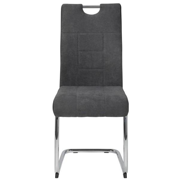 Jedálenská stolička ALINA S antracitová 2