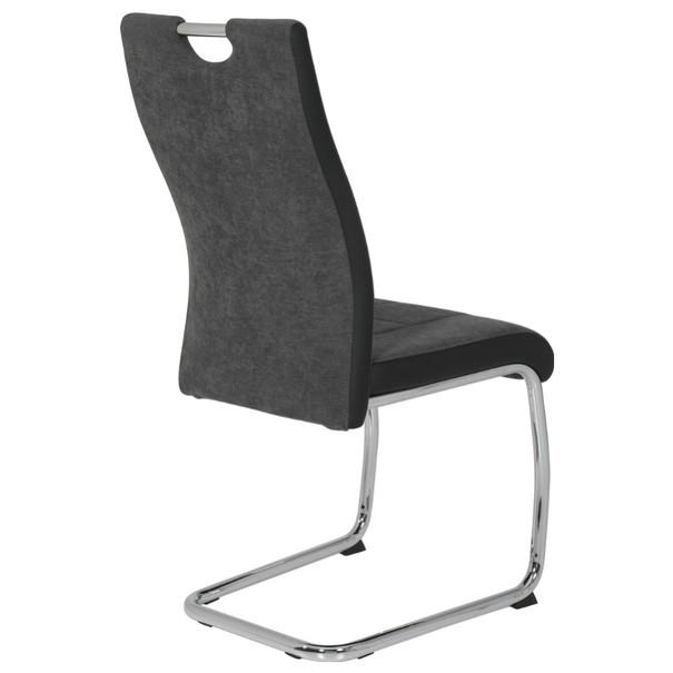 Jedálenská stolička ALINA S antracitová 5