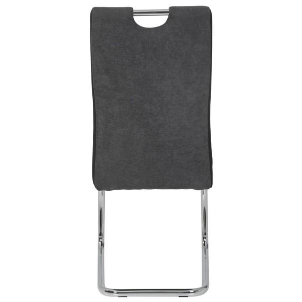 Jedálenská stolička ALINA S antracitová 6