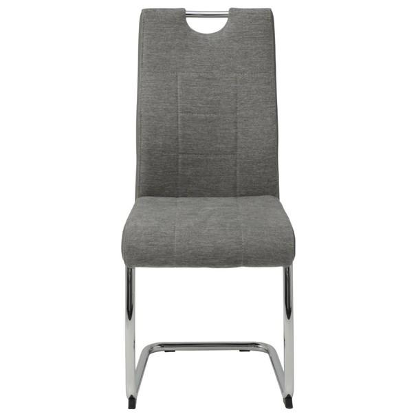 Jedálenská stolička ALINA S sivá 2