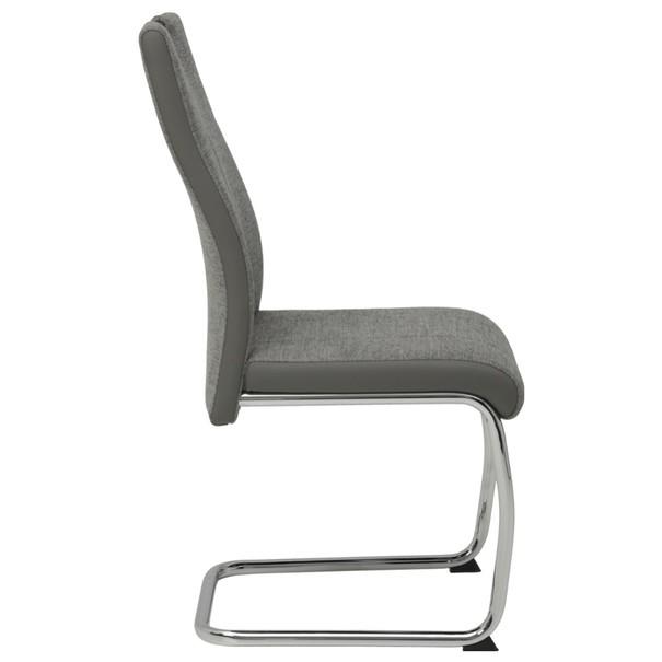 Jedálenská stolička ALINA S sivá 3