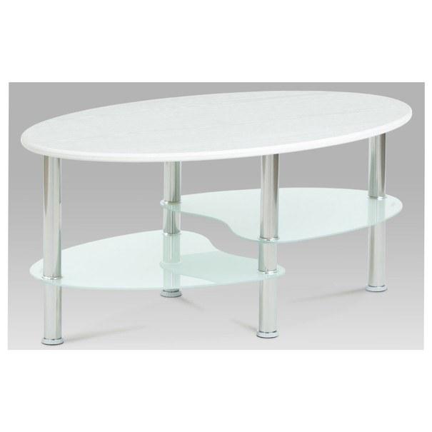 Konferenční stolek ALMERIA bílá 1
