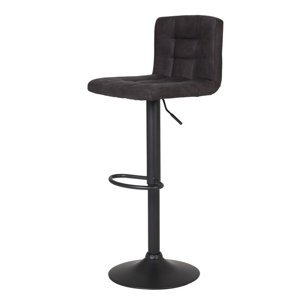 Barová stolička AMANDA I H antracitová 1