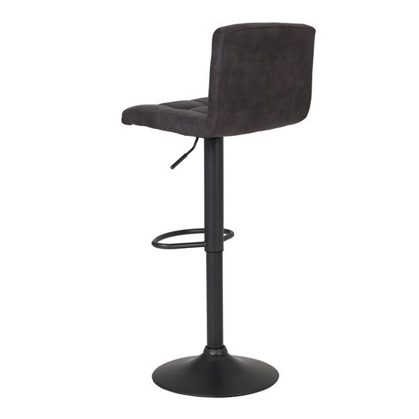 Barová stolička AMANDA I H antracitová 3