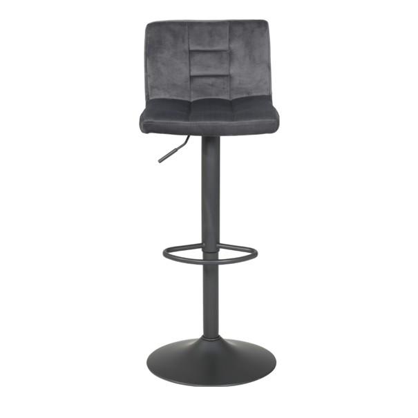 Barová židle  AMANDA II H šedá 3