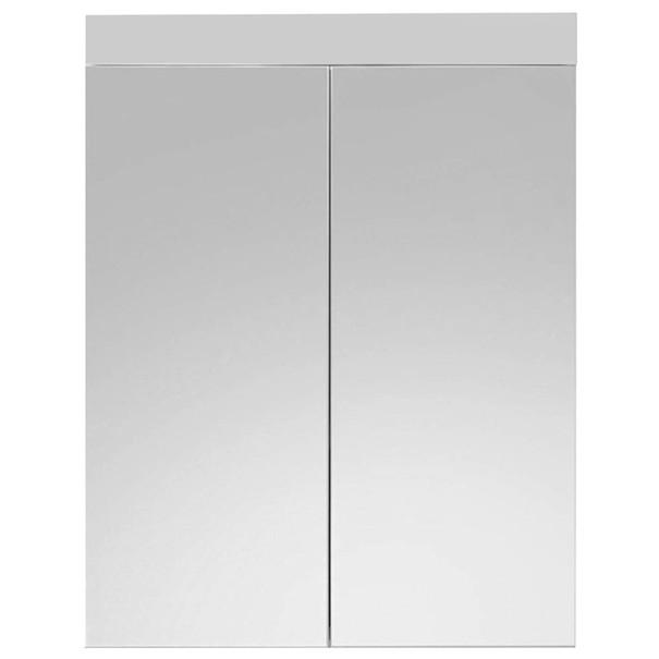 Sconto Zrcadlová skříňka AMANDA bílá/zrcadlo