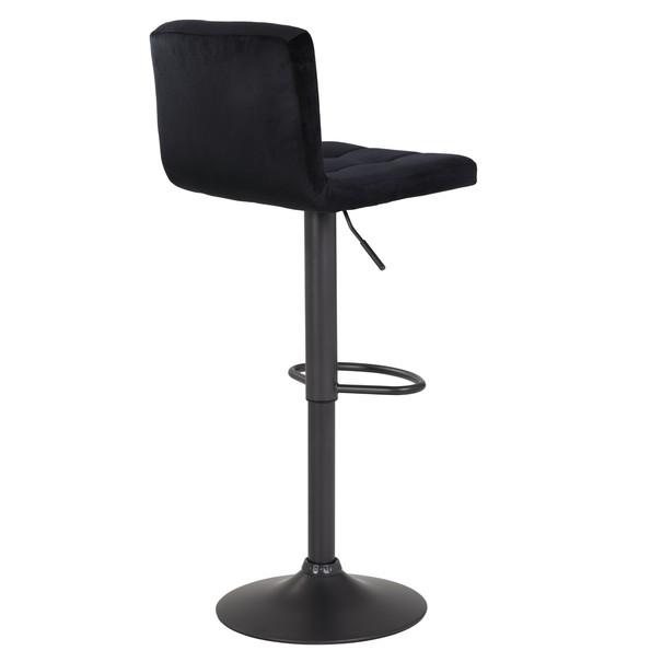 Barová židle AMANDA černá 2