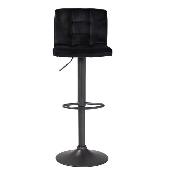 Barová židle AMANDA černá 3