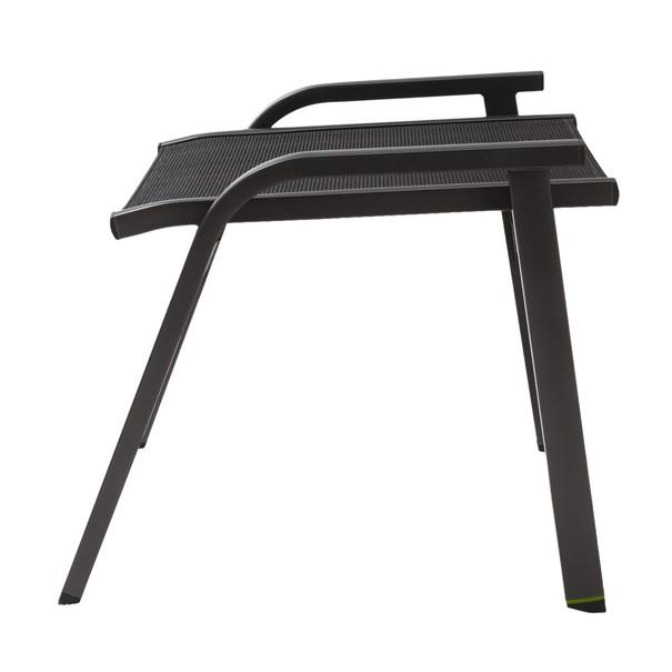 Záhradná stolička AMICO sivá 3