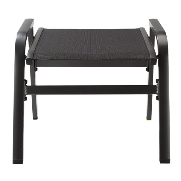 Záhradná stolička AMICO sivá 9