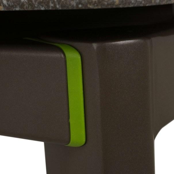 Zahradní stůl AMICO šedá/šířka stolu 95 cm 6