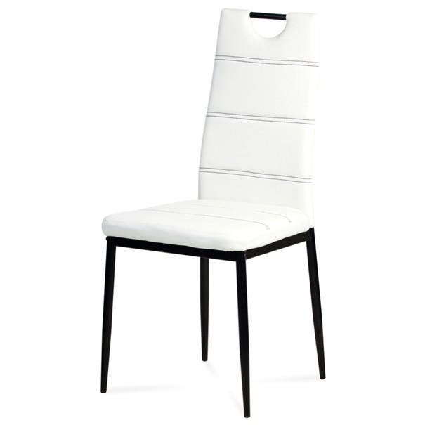 Jídelní židle ANABELA bílá 1