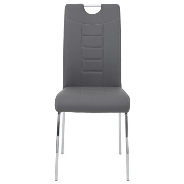 Jídelní židle ANDREA S šedá 2