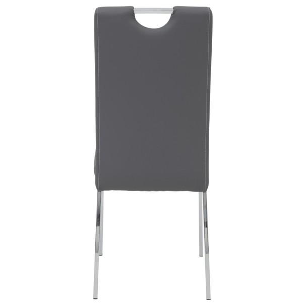 Jídelní židle ANDREA S šedá 6