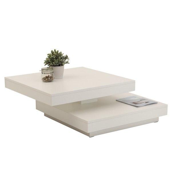 Konferenční stolek ANDY bílá 2
