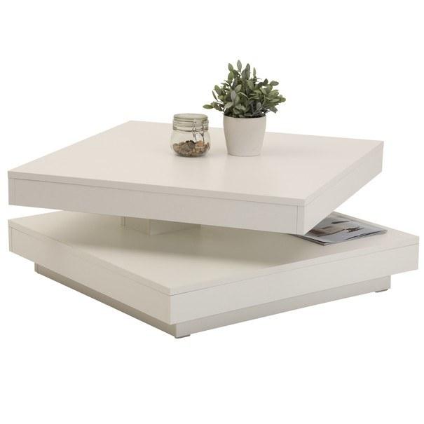Konferenční stolek ANDY bílá 3
