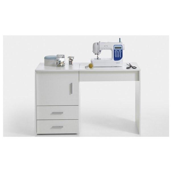Pracovní stůl na šicí stroj ANGERS  bílá 1