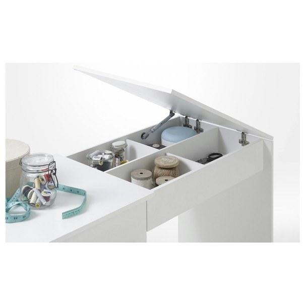 Pracovní stůl na šicí stroj ANGERS  bílá 4