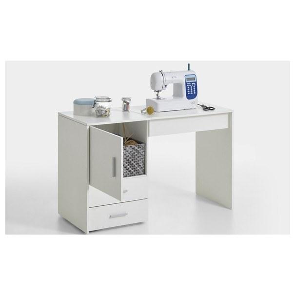 Pracovní stůl na šicí stroj ANGERS  bílá 6