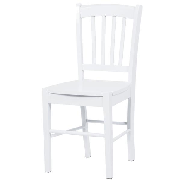 Jídelní židle ANNA bílá 1