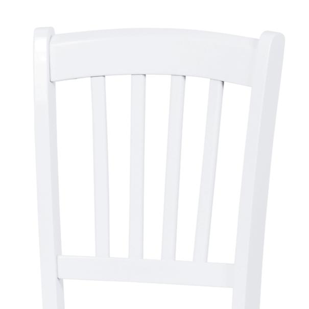 Jídelní židle ANNA bílá 2