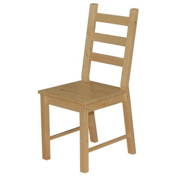 Jedálenská stolička ANTON prírodná 1
