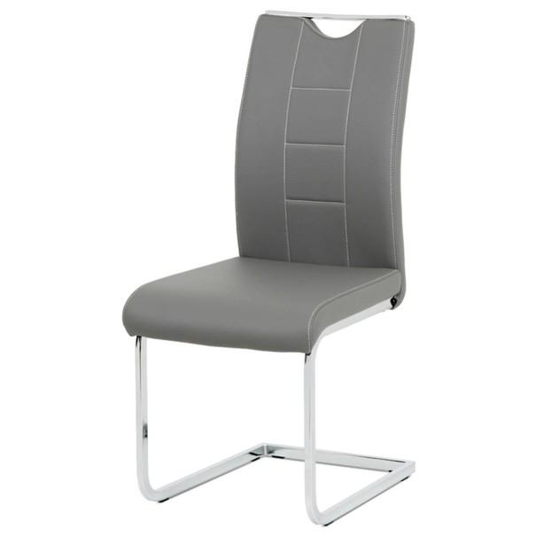 Jedálenská stolička ARABELA sivá 1