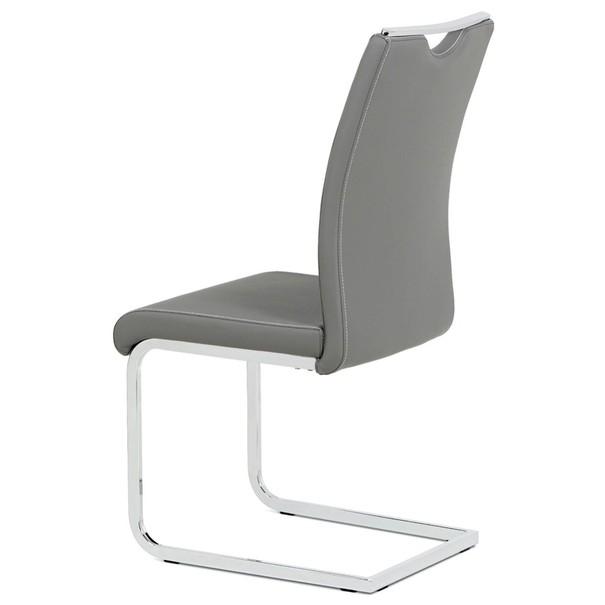 Jedálenská stolička ARABELA sivá 2