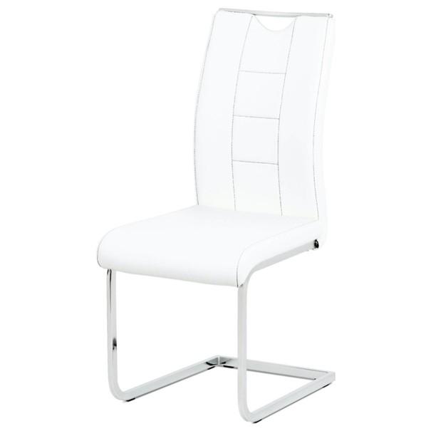 Jedálenská stolička ARABELA biela 1