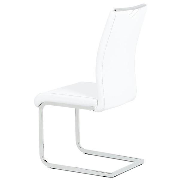 Jedálenská stolička ARABELA biela 2