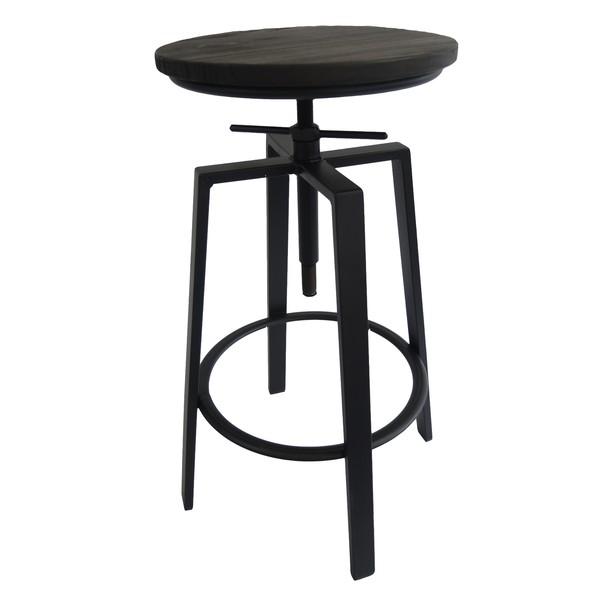 Barová židle ARBA 2 černá 1